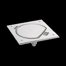 Kontakt Simon Connect Wkład do puszki podłogowej 1 moduł 45x45 IP66 stal nierdzewna  KSE0/23/72