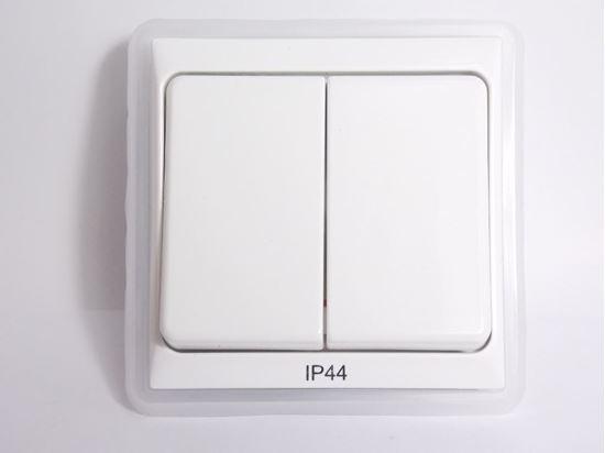 LIP5000F01 Schneider Electric Forum Elda włącznik podwójny świecznikowy bryzgoszczelny IP44